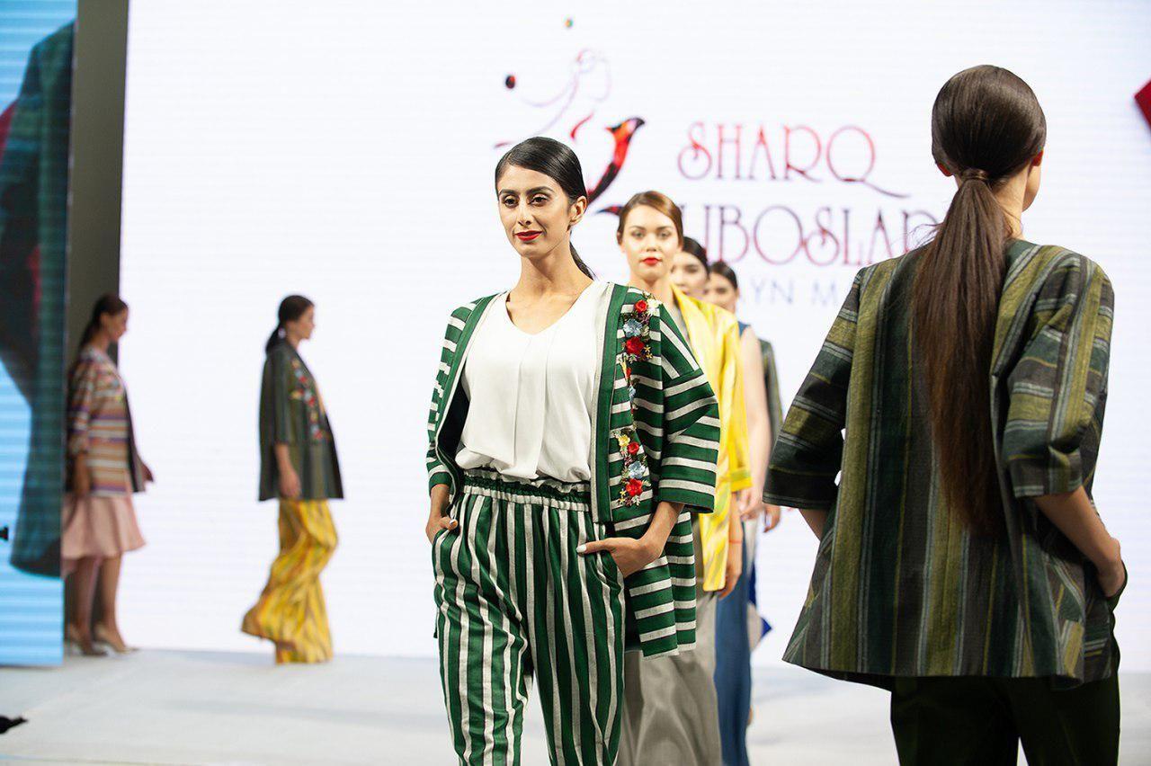 """""""Само"""", """"Идеал"""", """"Узтекс"""", """"Имир"""", """"Фрателли Каса"""", """"Sharq Liboslari"""", """"Сабина Назар"""". Узбекские бренды продемонстрировали свой потенциал"""