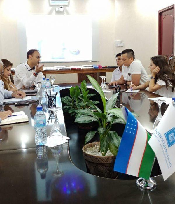 Индийская Sava international поможет в обучении текстильщиков Узбекистана