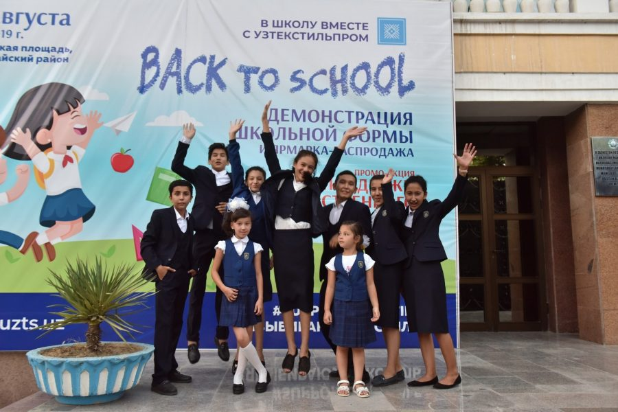 «Back to school with Uztextile»