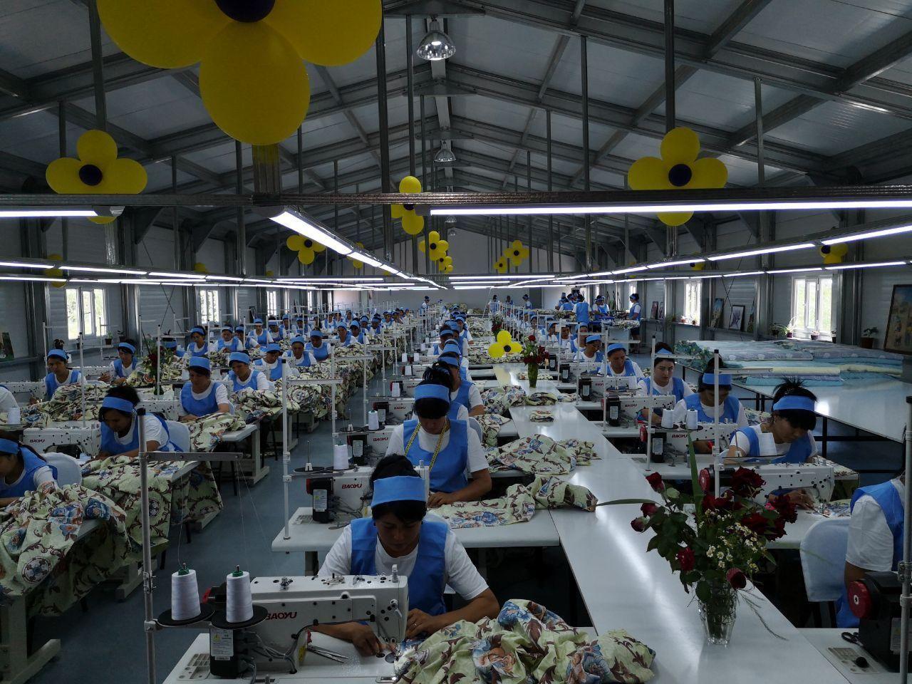 Новая швейная фабрика открыта в Шаватском районе