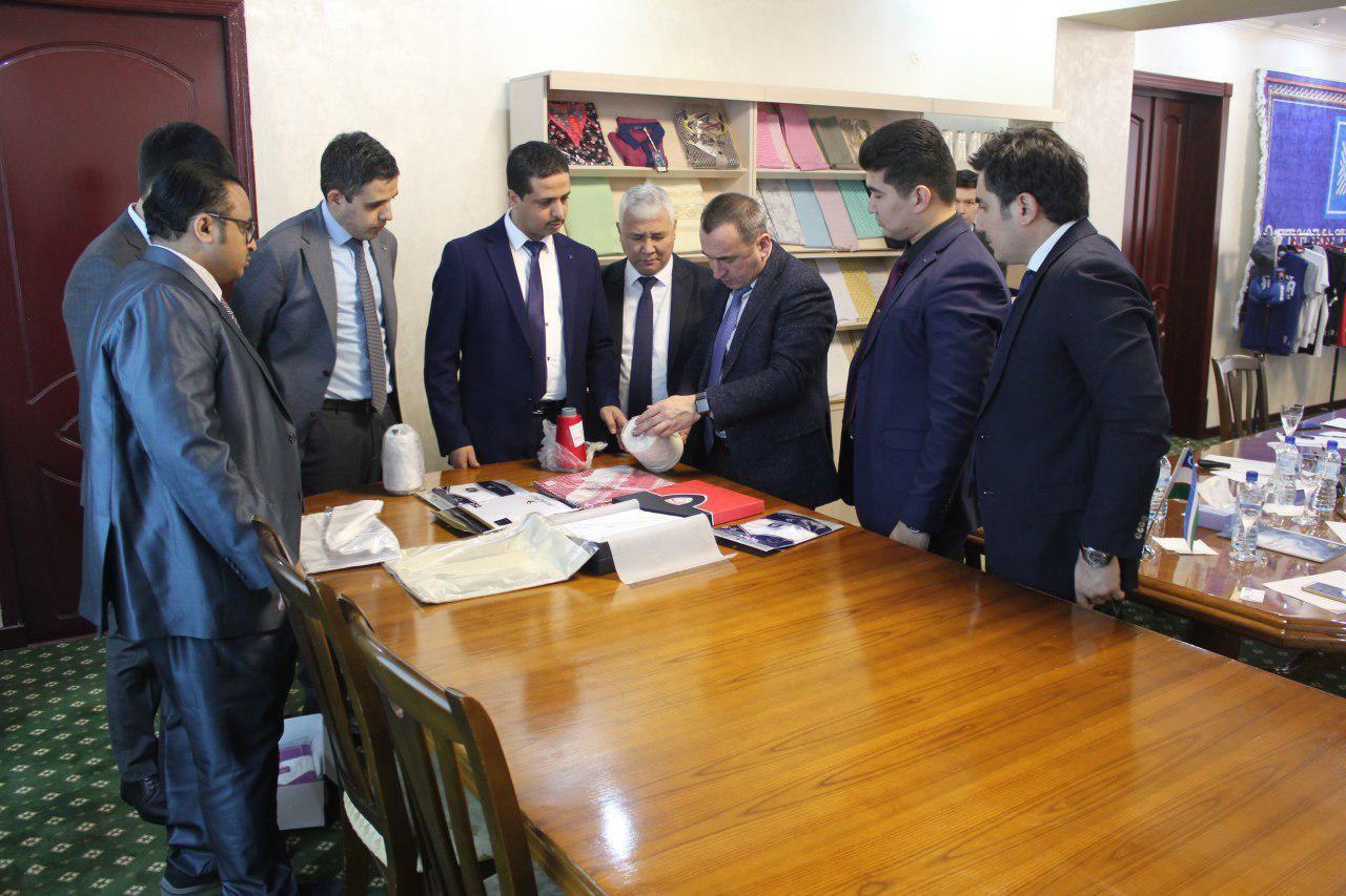 Корпорация Ajlan & Bros намерена производить в Узбекистане готовые текстильные изделия