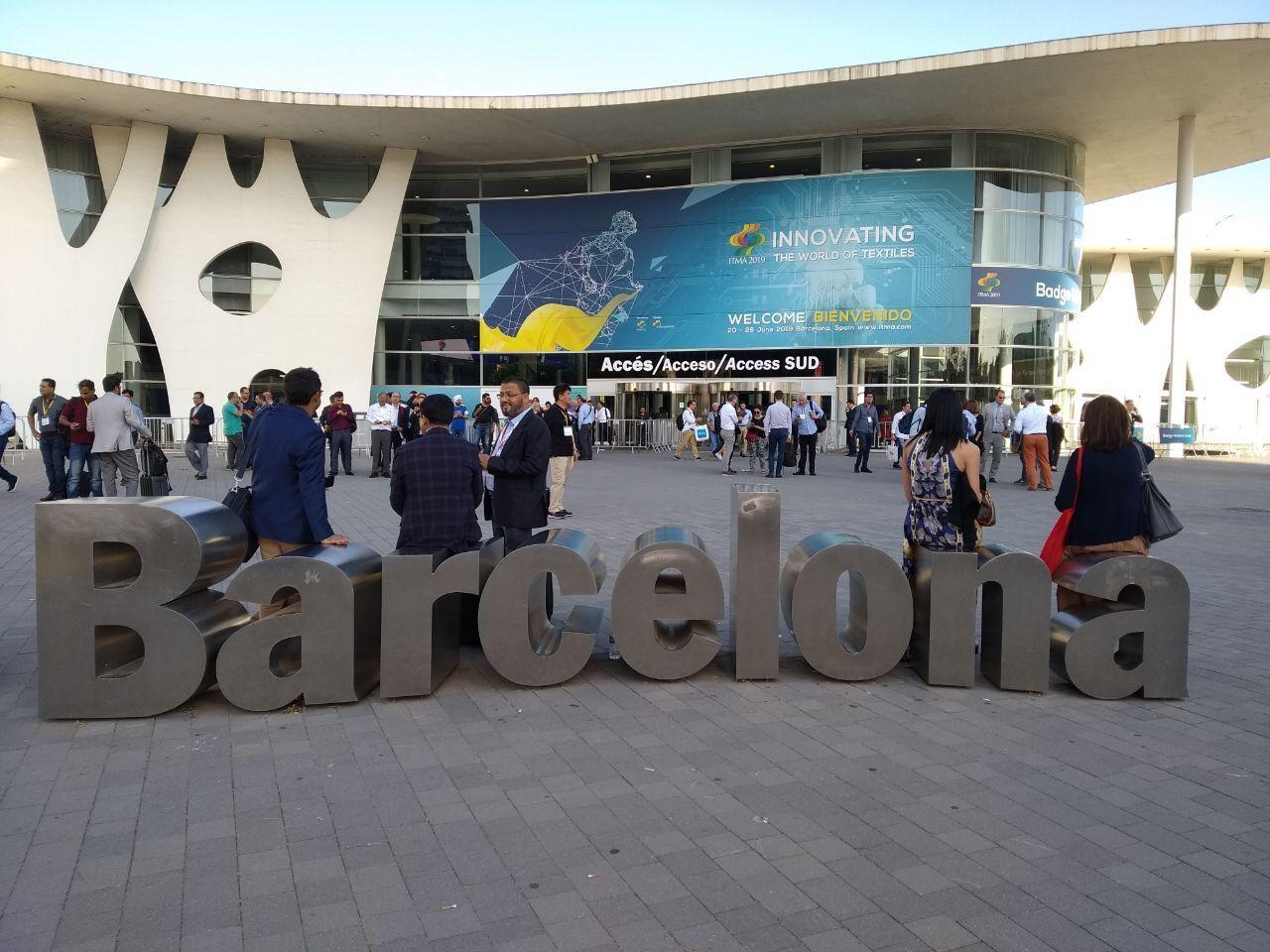 Узбекистан принял участие на Международной выставке оборудования и технологий для текстильной промышленности в Барселоне