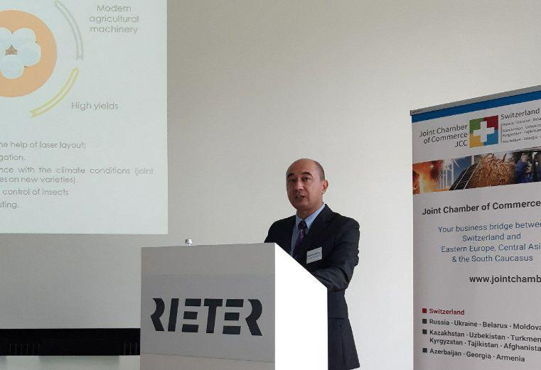 Узбекистан и Швейцария активизируют торгово-экономическое сотрудничество