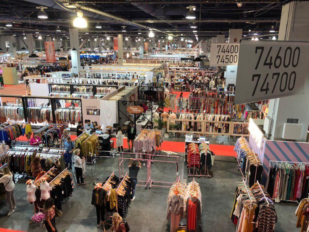 Узбекский текстиль  в Лас Вегасе
