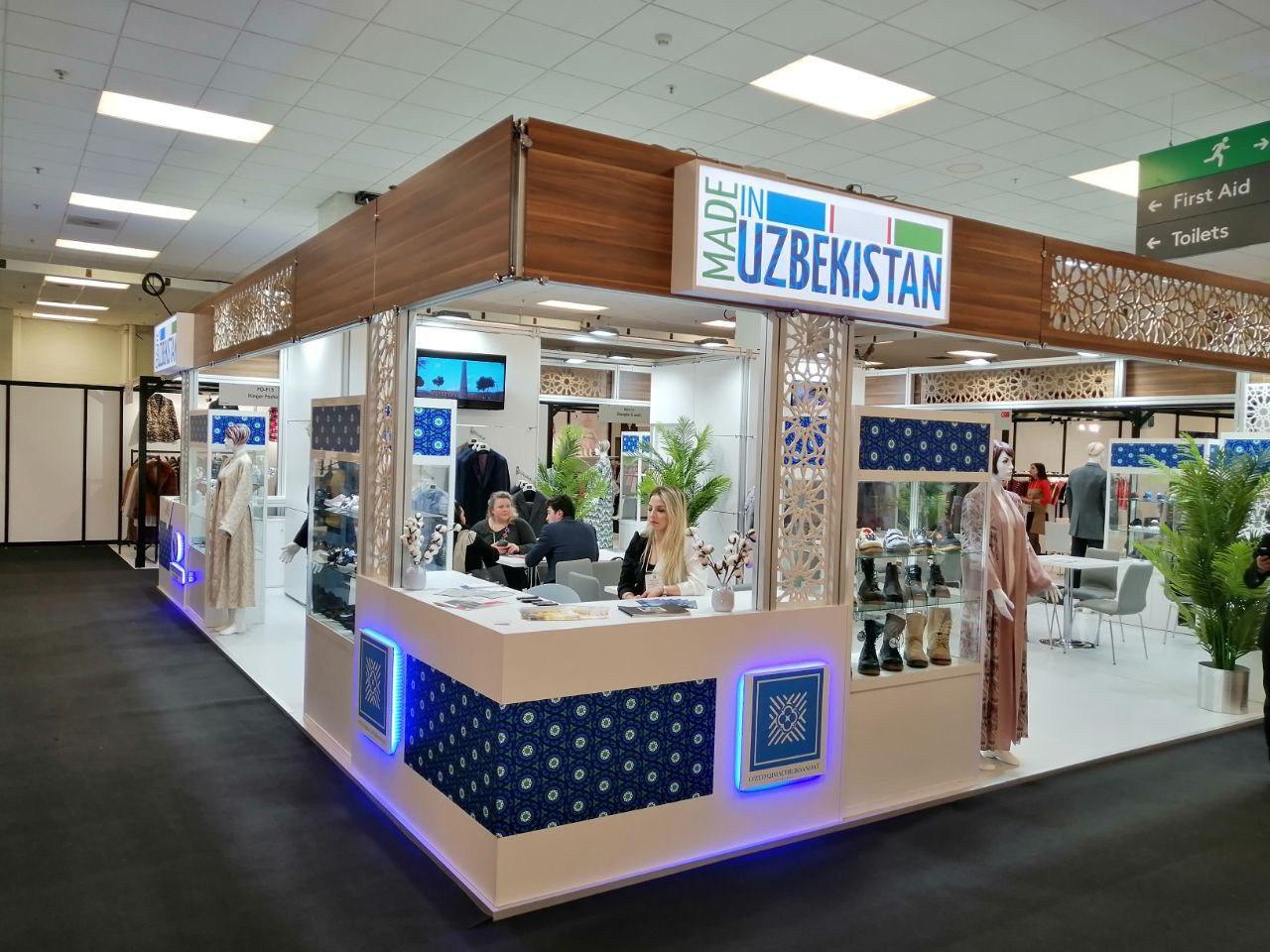 Узбекские бренды представлены на международной выставке Pure London