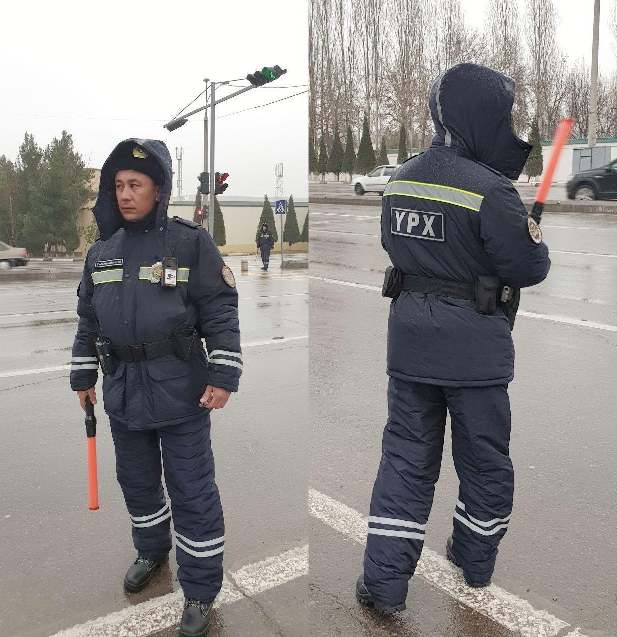 Новая форма сотрудников ДПС изготовлена узбекскими текстильщики