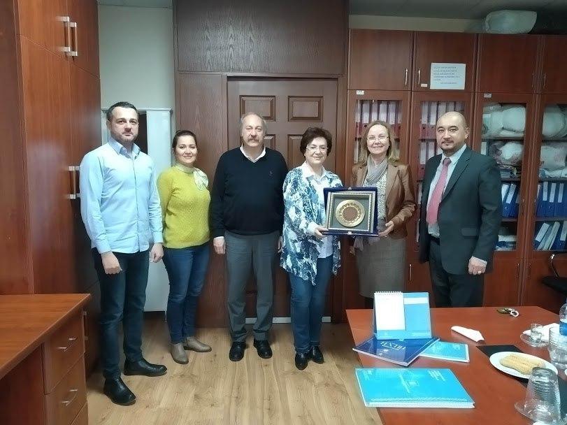 Установлено сотрудничество с Эгейским Университетом Турции