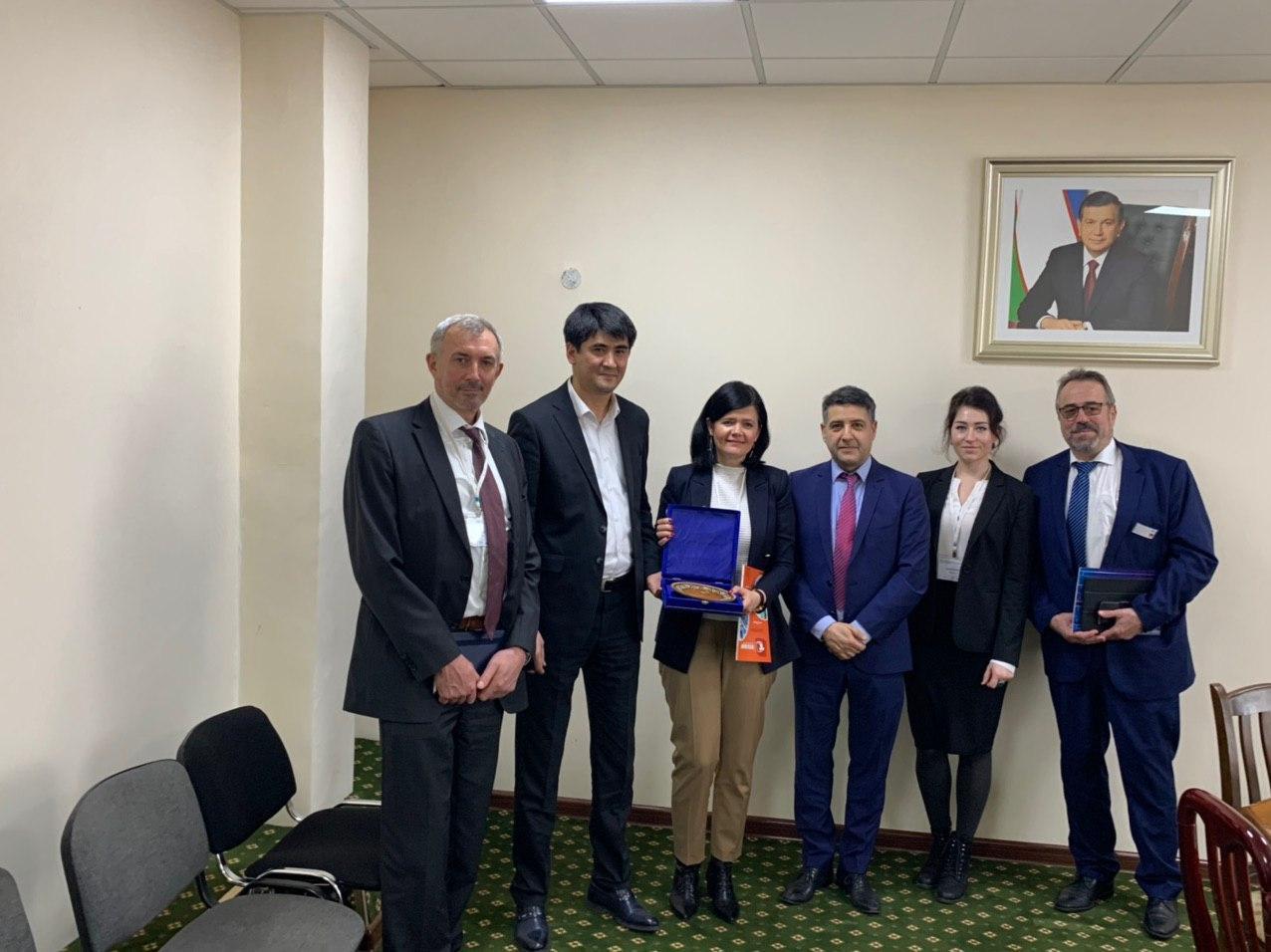 Ассоциация «Узтекстильпром» укрепляет сотрудничество с немецкими компаниями в сфере управления водными ресурсами и ирригационными системами