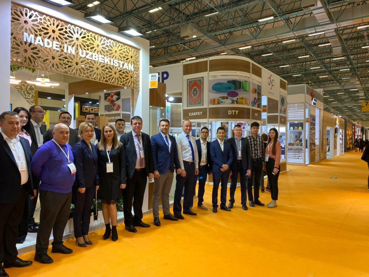 Делегация Узбекистана участвует на крупнейшей международной выставке  International Istanbul Yarn Fair 2020
